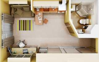 Как выглядит квартира студия однокомнатная